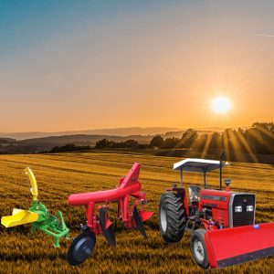Agricultural Tractors & Implements